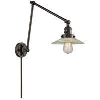 Innovations Lighting 238-OB-G2 Halophane 30 inch 100 watt Oiled Rubbed Bronze Swing Arm Sconce Wall Light