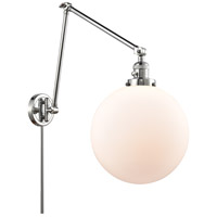 Innovations Lighting 238-PC-G201-12 XX-Large Beacon 34 inch 60.00 watt Polished Chrome Swing Arm Wall Light