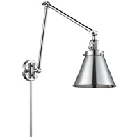 Innovations Lighting 238-PC-M13-PC Appalachian 30 inch 60.00 watt Polished Chrome Swing Arm Wall Light, Franklin Restoration