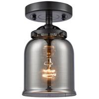 Innovations Lighting 284-1C-OB-G53 Small Bell 1 Light 5 inch Oil Rubbed Bronze Semi-Flush Mount Ceiling Light Nouveau