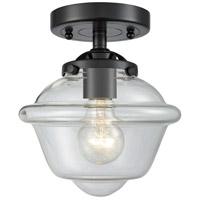 Innovations Lighting 284-1C-OB-G532-LED Small Oxford LED 8 inch Oil Rubbed Bronze Semi-Flush Mount Ceiling Light Nouveau