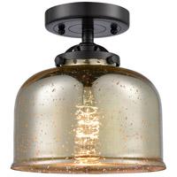 Innovations Lighting 284-1C-OB-G78-LED Large Bell LED 8 inch Oil Rubbed Bronze Semi-Flush Mount Ceiling Light Nouveau