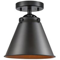 Innovations Lighting 284-1C-OB-M13-OB-LED Appalachian LED 8 inch Oil Rubbed Bronze Semi-Flush Mount Ceiling Light Nouveau
