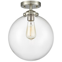 Innovations Lighting 284-1C-SN-G202-10 X-Large Beacon 1 Light 10 inch Brushed Satin Nickel Semi-Flush Mount Ceiling Light Nouveau