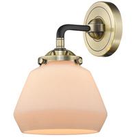Innovations Lighting 284-1W-BAB-G171-LED Fulton LED 7 inch Black Antique Brass Sconce Wall Light Nouveau