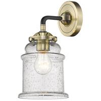 Innovations Lighting 284-1W-BAB-G184 Canton 1 Light 6 inch Black Antique Brass Sconce Wall Light Nouveau