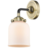 Innovations Lighting 284-1W-BAB-G51 Small Bell 1 Light 13 inch Black Antique Brass Sconce Wall Light Nouveau