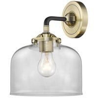 Innovations Lighting 284-1W-BAB-G72 Large Bell 1 Light 8 inch Black Antique Brass Sconce Wall Light Nouveau
