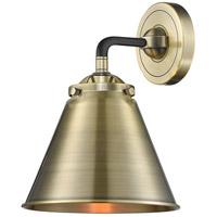 Innovations Lighting 284-1W-BAB-M13-AB Appalachian 1 Light 16 inch Black Antique Brass Sconce Wall Light Nouveau