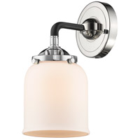 Innovations Lighting 284-1W-BPN-G51 Small Bell 1 Light 13 inch Black Polished Nickel Sconce Wall Light Nouveau