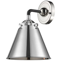 Innovations Lighting 284-1W-BPN-M13-PN Appalachian 1 Light 16 inch Black Polished Nickel Sconce Wall Light Nouveau