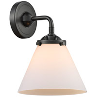 Innovations Lighting 284-1W-OB-G41-LED Large Cone LED 8 inch Oil Rubbed Bronze Sconce Wall Light Nouveau