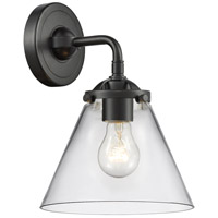 Innovations Lighting 284-1W-OB-G42 Large Cone 1 Light 16 inch Oil Rubbed Bronze Sconce Wall Light Nouveau