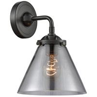 Innovations Lighting 284-1W-OB-G43 Large Cone 1 Light 8 inch Oil Rubbed Bronze Sconce Wall Light Nouveau