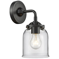 Innovations Lighting 284-1W-OB-G52 Small Bell 1 Light 5 inch Oil Rubbed Bronze Sconce Wall Light Nouveau