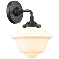 Innovations Lighting 284-1W-OB-G531-LED Small Oxford LED 8 inch Oil Rubbed Bronze Sconce Wall Light, Nouveau