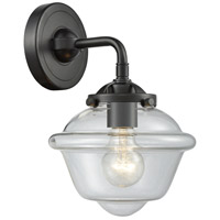Innovations Lighting 284-1W-OB-G532-LED Small Oxford LED 8 inch Oil Rubbed Bronze Sconce Wall Light, Nouveau
