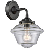 Innovations Lighting 284-1W-OB-G534 Small Oxford 1 Light 8 inch Oil Rubbed Bronze Sconce Wall Light Nouveau