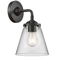 Innovations Lighting 284-1W-OB-G62 Small Cone 1 Light 6 inch Oil Rubbed Bronze Sconce Wall Light Nouveau