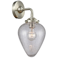 Innovations Lighting 284-1W-SN-G165-LED Geneseo LED 7 inch Satin Nickel Sconce Wall Light, Nouveau