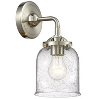 Innovations Lighting 284-1W-SN-G54 Small Bell 1 Light 13 inch Brushed Satin Nickel Sconce Wall Light Nouveau