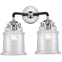 Polished Nickel Canton Bathroom Vanity Lights