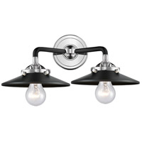 Glass Railroad Bathroom Vanity Lights