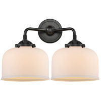 Innovations Lighting 284-2W-OB-G71 Large Bell 2 Light 16 inch Oil Rubbed Bronze Bath Vanity Light Wall Light Nouveau