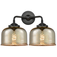Innovations Lighting 284-2W-OB-G78 Large Bell 2 Light 16 inch Oil Rubbed Bronze Bath Vanity Light Wall Light Nouveau