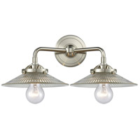 Innovations Lighting 284-2W-SN-G2-LED Halophane LED 17 inch Satin Nickel Bath Vanity Light Wall Light Nouveau