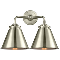 Innovations Lighting 284-2W-SN-M13-SN-LED Appalachian LED 16 inch Brushed Satin Nickel Bath Vanity Light Wall Light Nouveau