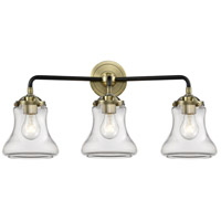 Innovations Lighting 284-3W-BAB-G192-LED Bellmont LED 24 inch Black Antique Brass Bath Vanity Light Wall Light Nouveau