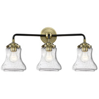 Innovations Lighting 284-3W-BAB-G194-LED Bellmont LED 24 inch Black Antique Brass Bath Vanity Light Wall Light Nouveau
