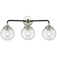 Polished Nickel Beacon Bathroom Vanity Lights