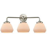 Satin Nickel Fulton Bathroom Vanity Lights