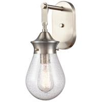 Innovations Lighting 414-1W-SN-6SDY Genesis 1 Light 6 inch Satin Nickel Bath Vanity Light Wall Light