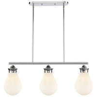 Innovations Lighting 414-3I-PC-8W-LED Genesis LED 39 inch Polished Chrome Island Light Ceiling Light