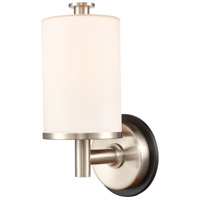 Innovations Lighting 418-1W-BSN-W Marlowe 1 Light 5 inch Black Satin Nickel Bath Vanity Light Wall Light