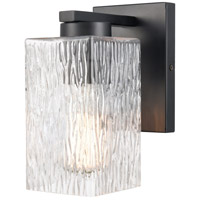 Matte Black Juneau Bathroom Vanity Lights