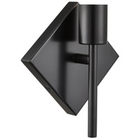 Innovations Lighting 425-1W-BK Mia 1 Light 6 inch Matte Black ADA Sconce Wall Light