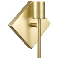 Innovations Lighting 425-1W-SB Mia 1 Light 6 inch Satin Brass ADA Sconce Wall Light