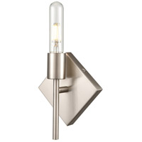 Innovations Lighting 425-1W-SN-T10LED Mia LED 6 inch Satin Nickel ADA Sconce Wall Light