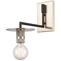 Innovations Lighting 432-1W-BSN Aurora 1 Light 6 inch Brushed Satin Nickel Sconce Wall Light Restoration