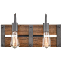 Wood Austin Bathroom Vanity Lights
