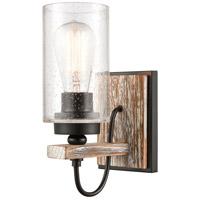 Innovations Lighting 442-1W-BK-SDY-LED Paladin LED 5 inch Matte Black Sconce Wall Light