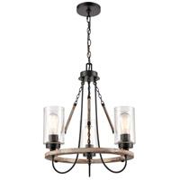 Innovations Lighting 442-3CR-BK-SDY-LED Paladin LED 19 inch Matte Black Mini Chandelier Ceiling Light