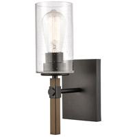 Innovations Lighting 445-1W-BK-SDY-LED Westlake LED 5 inch Matte Black Bath Vanity Light Wall Light