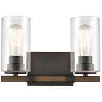 Innovations Lighting 445-2W-BK-SDY-LED Westlake LED 13 inch Matte Black Bath Vanity Light Wall Light