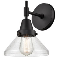 Innovations Lighting 447-1W-BK-SDY Caden 1 Light 8 inch Matte Black Sconce Wall Light