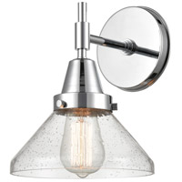 Innovations Lighting 447-1W-PC-SDY Caden 1 Light 8 inch Polished Chrome Sconce Wall Light